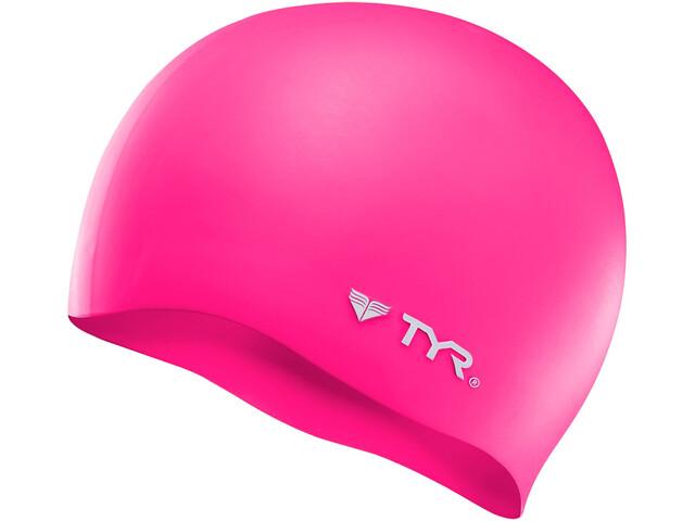TYR Silicone Gorra Sin Arrugas, flou pink